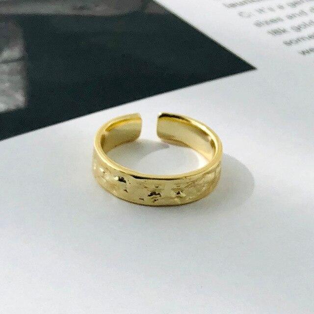 серебряные кольца в стальном стиле подарок для женщин дизайнерское фотография