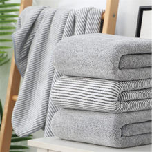 Bamboo Charcoal Terry Bath Towel Set Bamboo Carbon Fiber Bathroom Towel Microfiber Hair Towel Face Hand Bath Towel Set for Adult