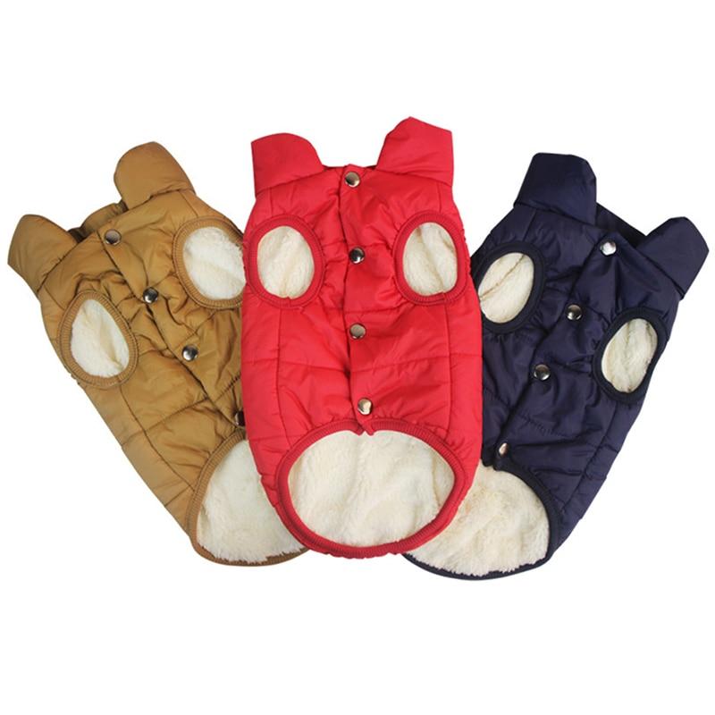 Купить winter pet jacket coat clothes for dogs winter clothing warm