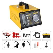 AUTOOL SDT208 детектор дыма автомобиля EVAP воздухозаборник турбокомпрессионная вакуумная выхлопная система охлаждения детектор утечки трубопровода
