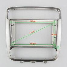 Cadre Audio pour voiture, Radio Fascia 9 pouces, panneau de navigation gps adapté à HONDA STREAM 2001 2004