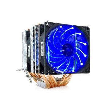 6 heat-pipes RGB CPU Cooler radiator Cooling 3PIN 4PIN 2 Fan For Intel 1150 1155 1156 1366 2011 X79 X99 Motherboard AM2/AM3/AM4 bykski cpu cooler for amd ryzen 3 5 7 am2 am2 am3 am3 am4 ryzen threadripper processor water block rgb argb cpu xph t8 m