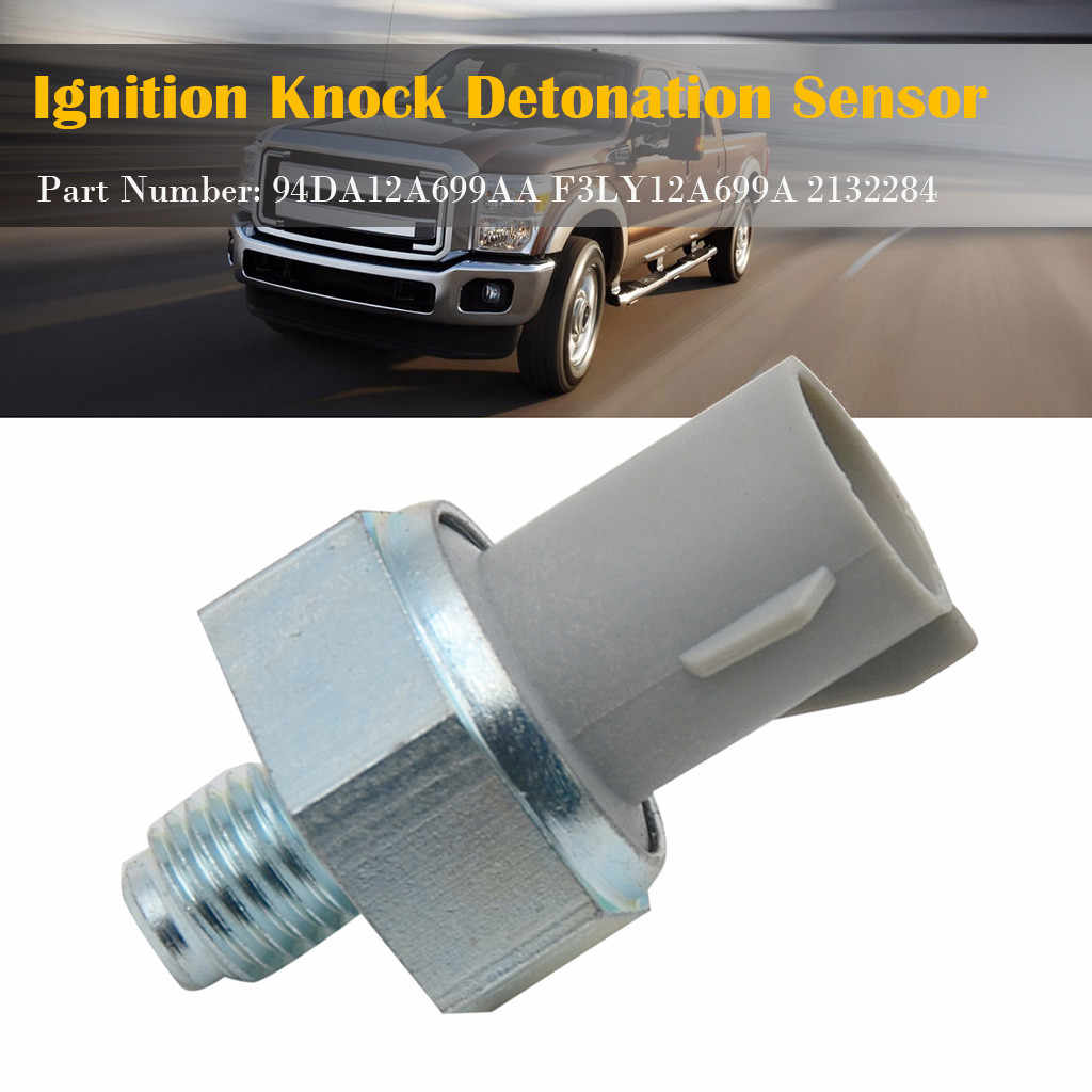 Ignition Kn-ock Detonation Sensor F3LY12A699A Durable And Undamaged For Ford F-150 For Ford Thunderbird For Lincoln Mark VIII
