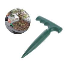 Plastic Dibber Digging Hole Tool Garden Bonsai Flower Planting Weeding Seedling W0YD