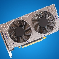 for NVIDIA GTX 550ti 4GB GDDR5 128 Bit for PC Low-Noise and Ultra-high-Definition Desktop Gaming Discrete Video Card 1