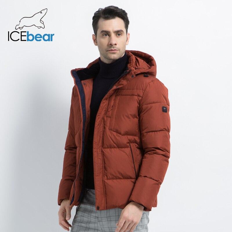 2019 nouveau hiver hommes veste de haute qualité homme manteau à capuche mâle vêtements décontracté hommes coton vêtements marque vêtements MWD19601D