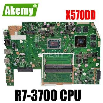 X570DD Motherboard For ASUS TUF YX570D YX570DD X570D X570DD Laptop motherboard Mainboard R7-3700 CPU GTX1050 GPU