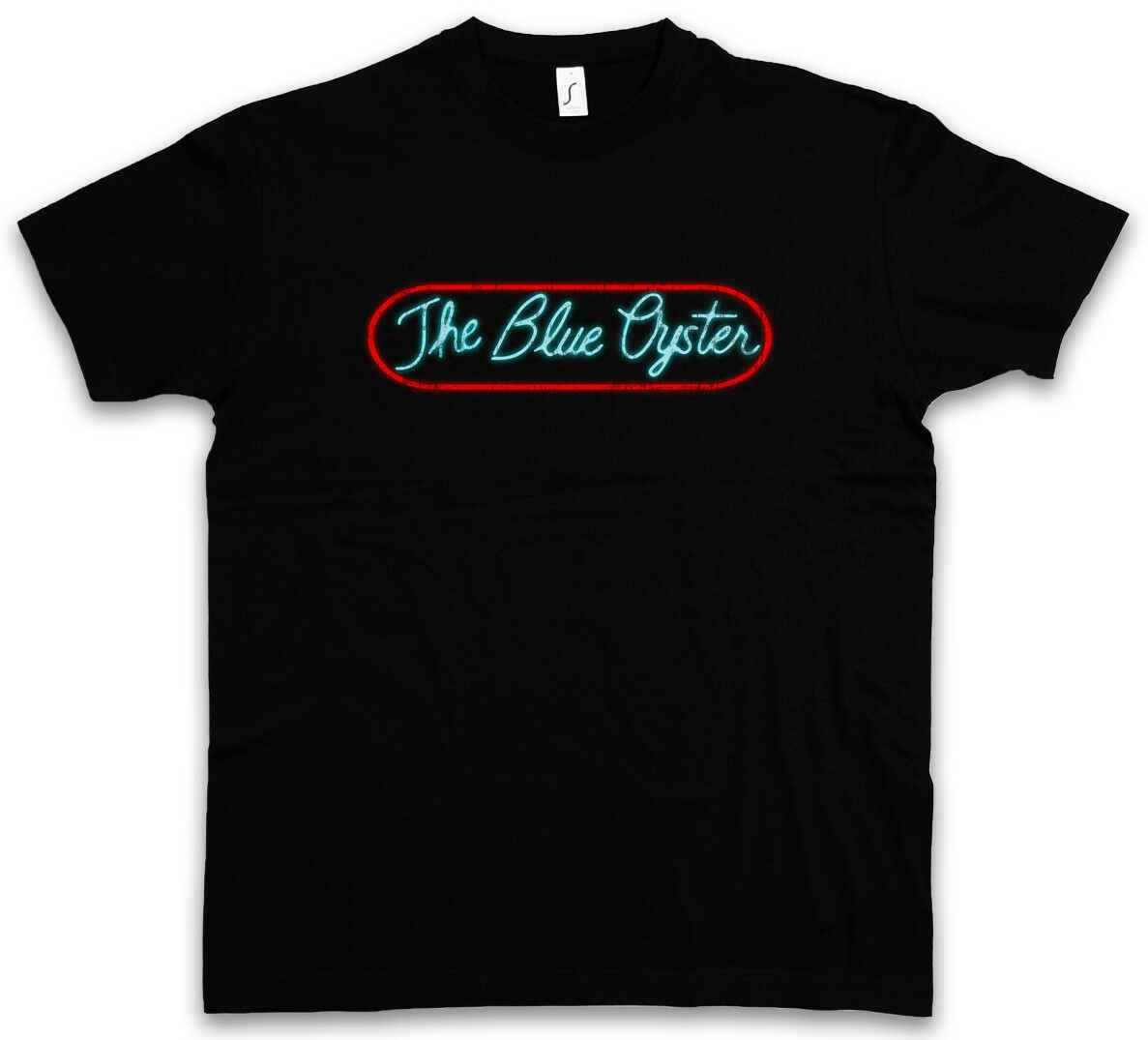 The Blue Oyster hommes Tank top POLICE CLUB Neon Sign Logo Academy Gay Bar