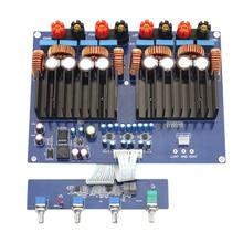 Tas5630 2.1 고전력 디지털 전력 증폭기 보드 Hifi 클래스 D 오디오 Opa1632 600W + 2x300W Dc48V