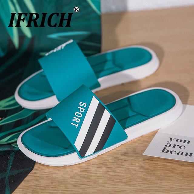 2019 الصيف رجل لينة أسفل النعال العلامة التجارية مصمم الشاطئ حذاء كاجوال مكافحة زلة داخلي دش النعال الرجال الراحة النعال