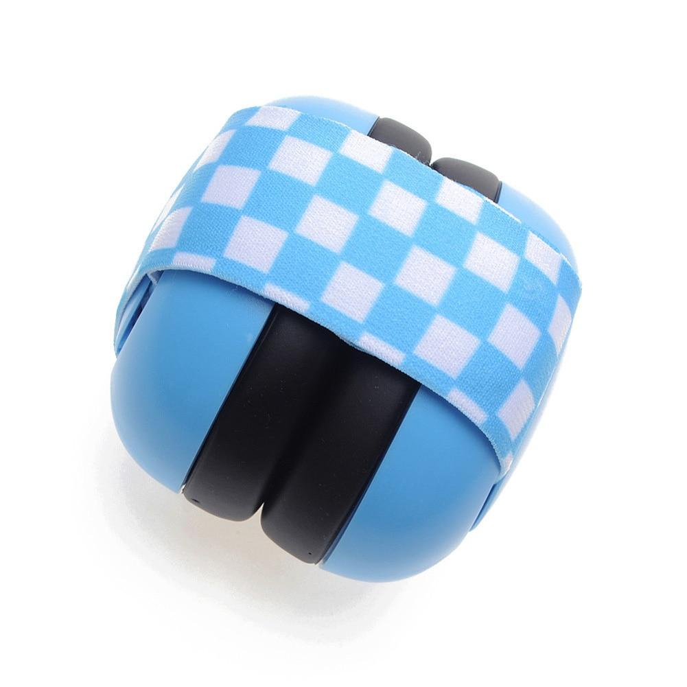 Defenders Elastic Strap Earmuff Soundproof Travel Anti Noise Headphone Hearing Portable Ear Protection Adjustable Infant Baby