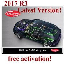 Delphi ds150e autocom 2017 r3 2017 r1 software tcs multidiag pro nenhum varredor do keygen obd2 para a ativação livre do caminhão do carro