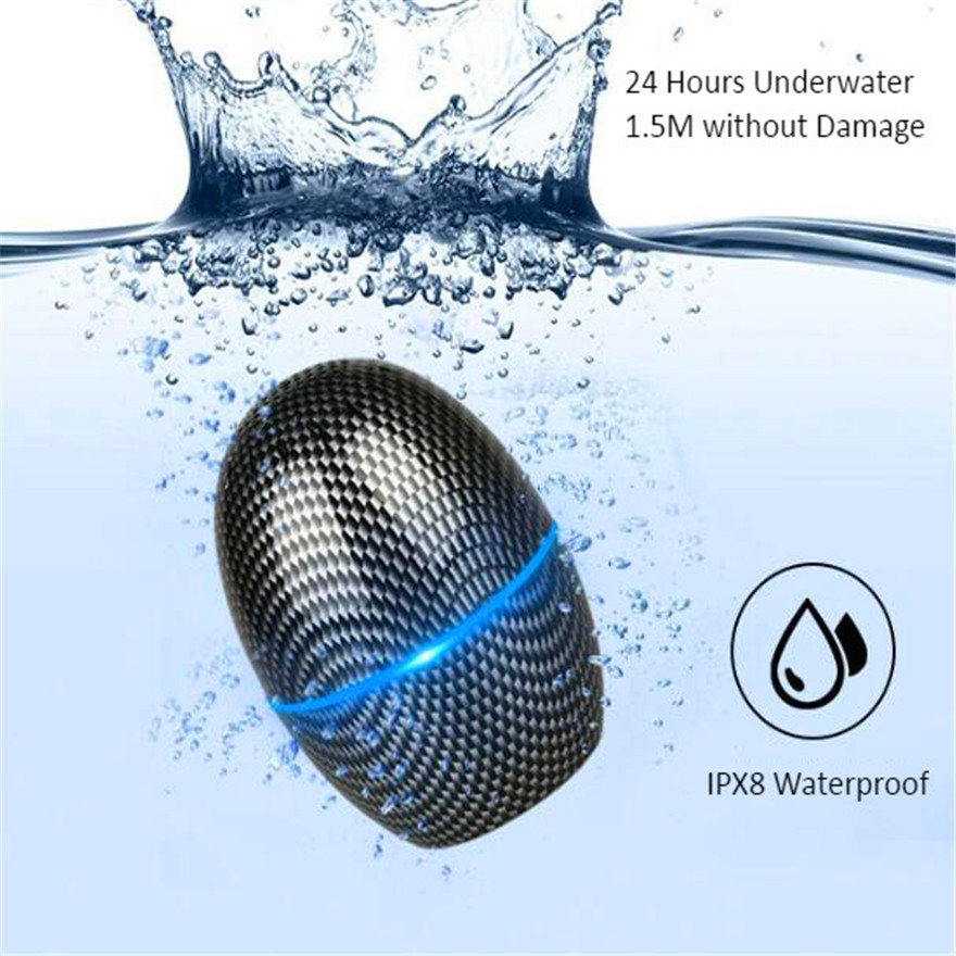 Wodoodporny Mini głośnik Soundbar z Bluetooth kolumna głośnik sport muzyka centrum głośnik prysznicowy akustyczna System Audio