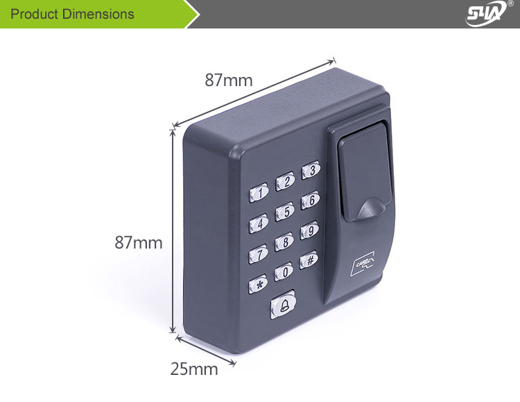 X6 Fingerprint access control (1)