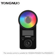 Đèn LED YONGNUO Điều Khiển Từ Xa Cho YN300AIR II/YN360III/YN360III Pro Chân Dung Video Trực Tiếp Selfie Ánh Sáng Kích Hoạt