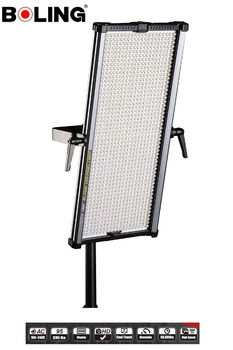 BOLING BL-2250P 1092 LEDs CRI 96+ 5500K 0-360 Continuous LED Panel Lighting with Soft White Diffuser And Soft Orange Filters
