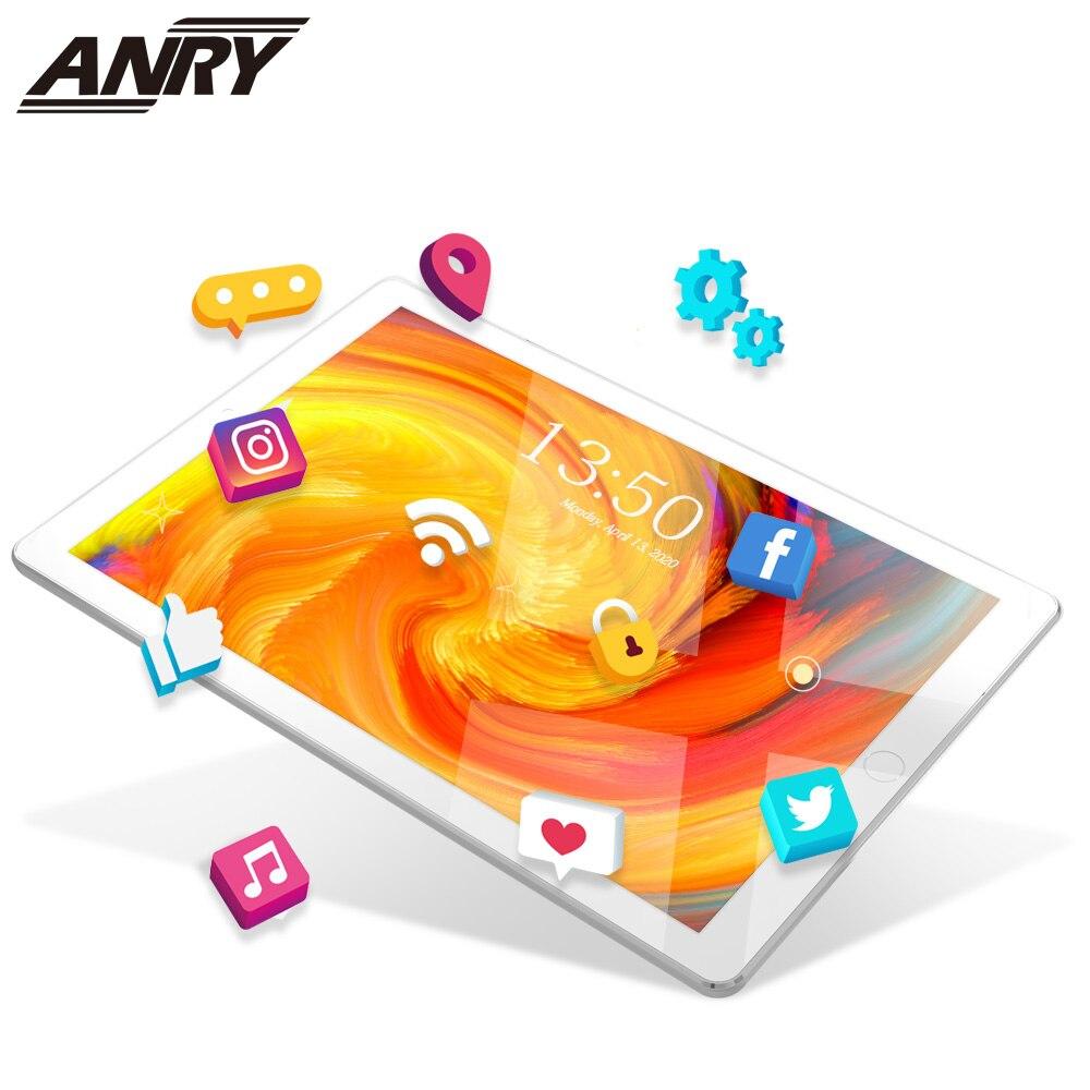 10 pulgadas 3G teléfono llame a la tableta PC Quad Core 16 GB ROM mercado de Google 1280x800 IPS tabletas Android 7,0 Wifi GPS Bluetooth