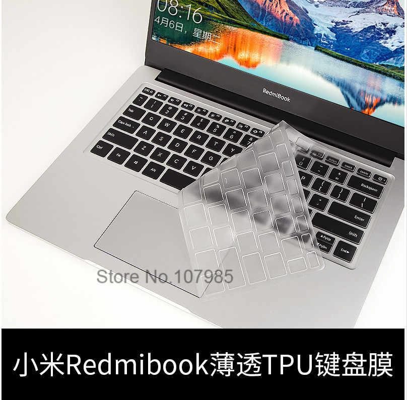 ノートブックキーボード Tpu スキンプロテクターシャオ mi 赤 mi ブック 14 赤 mi ブックノートパソコンのキーボードスキン新 14 インチ赤 mi ブック 14