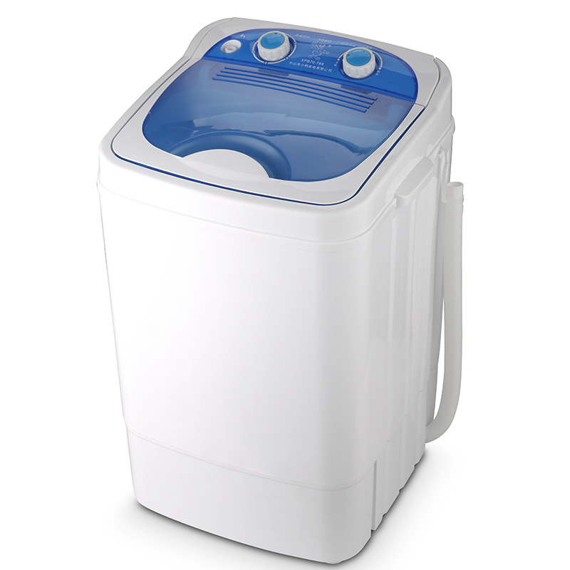 7 0 Kg Single Barrel Single Cylinder Mini Washing Machine with Dehydration Semi automatic Washing with Dehydration in Food Processors from Home Appliances