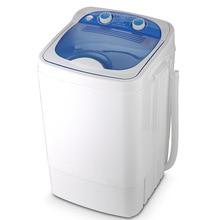 7.0 Kg Single Barrel Single Cylinder Mini Washing Machine with Dehydration Semi-automatic Washing with Dehydration цена и фото