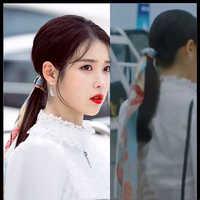 Horquilla de moda coreana DEL LUNA Hotel IU Lee Ji Eun misma banda de pelo moda simple coreana adorno para el cabello