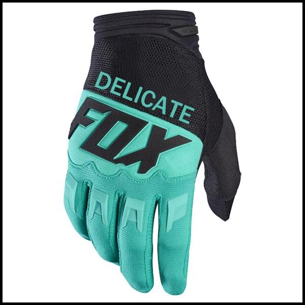 Delicate Fox Motorbike ATV Bike Off-road 360 Dirtpaw MX Gloves Motorcycle Black Green Glove