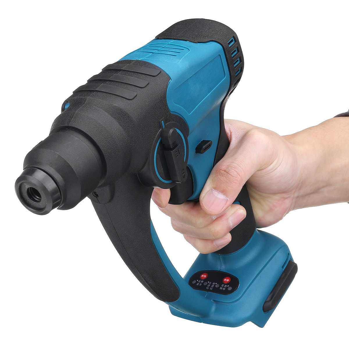 Brushless Cordless Rotary Hammer Electric Drill Demolition Hammer Rechargeable Power Tool  for Makita 18V Battery
