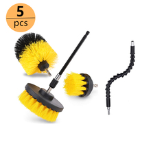 3pcs 5pcs Drill Scrubber Brush Car Kit Detailing Tile Grout Car Boat RV Tub Cleaner Scrubber Cleaning Tool Car Cleaning Kit