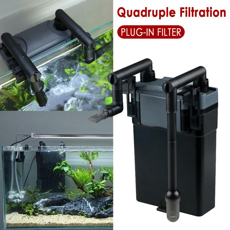 Fficient Filtration System Aquarium External Canister Filter Table Top Wall Mounted Design Fish Tank Wall Mount Filter Drop Ship Filters Accessories Aliexpress