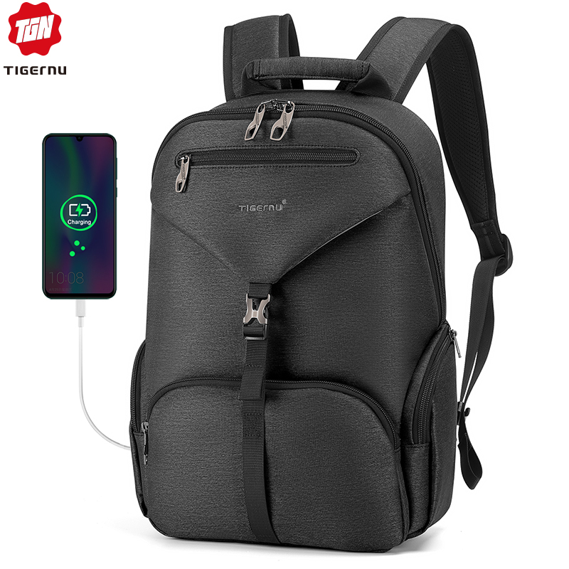 Tigernu Men Waterproof 14 Inch Laptop Bag High Quality Male Travel Backpack Mochilas 2020 Fashion School Backpack For Men
