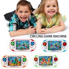Водосборное кольцо маленькая игровая машина случайный Ностальгический детский Ретро игровой автомат круговой игровой автомат неэлектрический