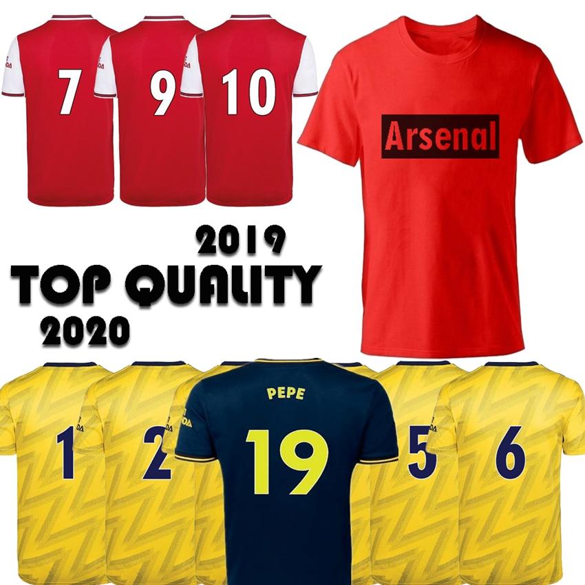 Sportswear Soccer Wear Camiseta Fashion Men's Clothing T Shirt S-2XL Arsenal Third Tops Jersey