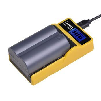 1Pc BP-511 BP 511 BP511 BP511A BP-511A מצלמה סוללה + LCD USB מטען עבור Canon EOS 40D 300D 5D 20D 30D 50D