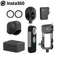 Защита объектива Insta360 ONE X2/адаптер микрофона/крышка объектива/концентратор быстрой зарядки аккумулятора/шнур времени пули/Вспомогательные...