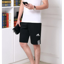 New Hot-Selling Summer T-Shirt Pants Suit Casual Brand Fitness Jogging Pants T-Shirt Hip-Hop Men's Sportswear 2-Piece Set
