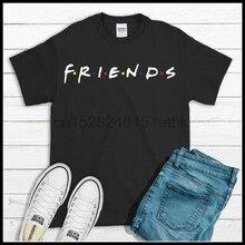 Amigos 90 tv mostrar t camisa masculina tamanhos anel girado algodão t