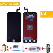 цена на For Apple iphone 6S Full LCD Display Touch Screen Digitizer Panel Pantalla monitor LCD Assembly Complete With 3D Touch TIANMA