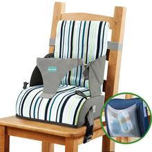 Baby Dining Chair Booster Cushion Cartoon Kids High Chair Seat Pad Chair Heightening Cushion Child Pram Chair Increasing Mat