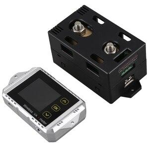 Va1300 100V 300A беспроводной измеритель напряжения и тока автомобильный контроль заряда батареи 12V 24V 48V батарея кулонный счетчик Va метр