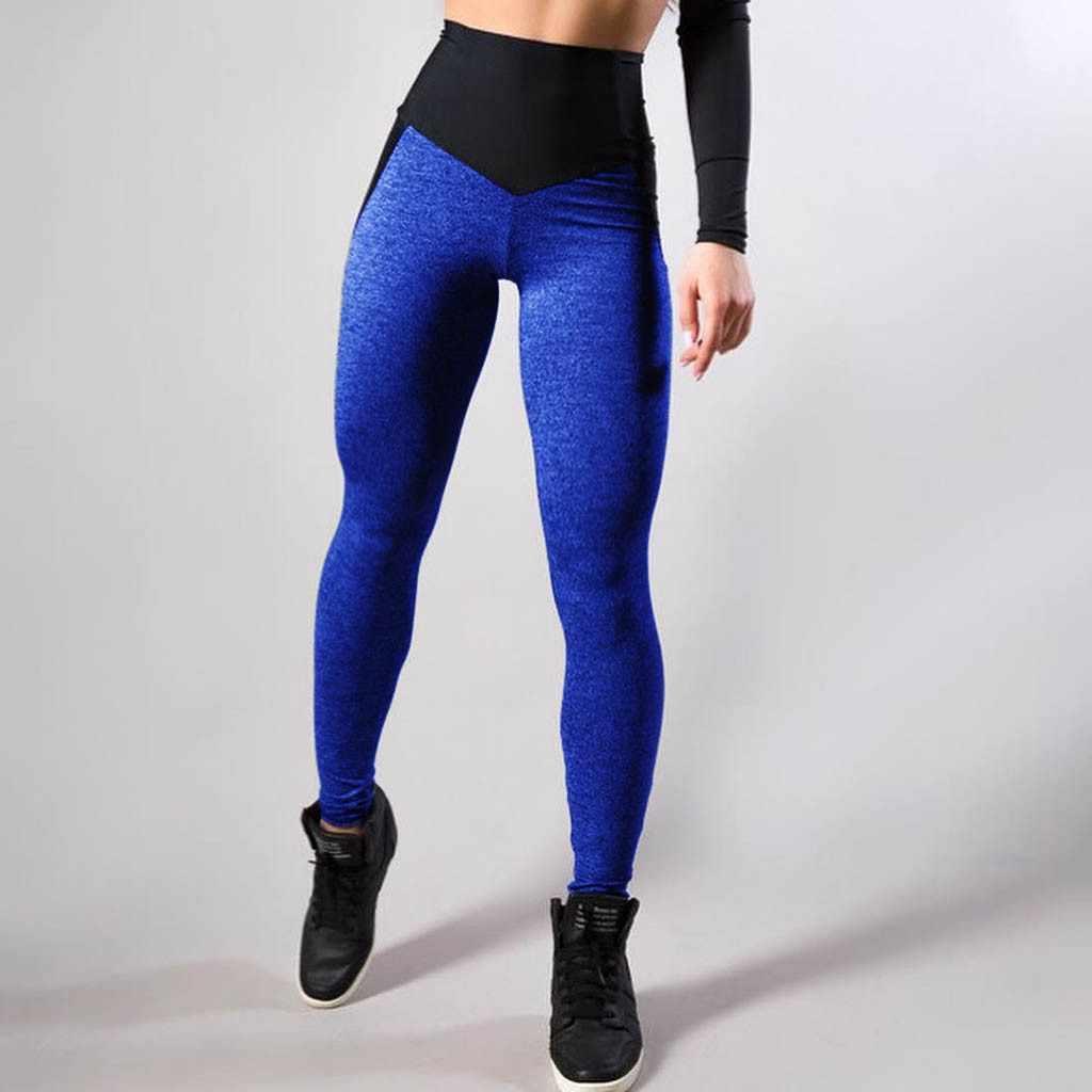 Frauen Yoga Hosen Sport Laufsport Stretchy Fitness Leggings Nahtlose Bauch-steuer Gym Compression Strumpfhosen Hosen #30