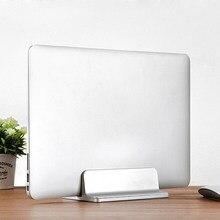 Soporte Vertical ajustable para portátil, Base de aluminio para montaje de ordenador portátil, accesorios para MacBook Pro Air, 2020