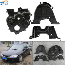 ZUK Lower Upper Back Timing Belt Covers For HONDA ACCORD 1998-2002 ODYSSEY 2.0L 2.3L 11810-PAA-800 11820-P0A-000 11830-P0A-000