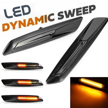 LED smoked Lens E60 E61 LED Fender Side Marker Turn Signal Light for BMW 1 3 5 Series E81 E82 E87 E88 E90 E91 E92 E93 X1 E84 X3 1 set wiper blades for bmw 5 series e60