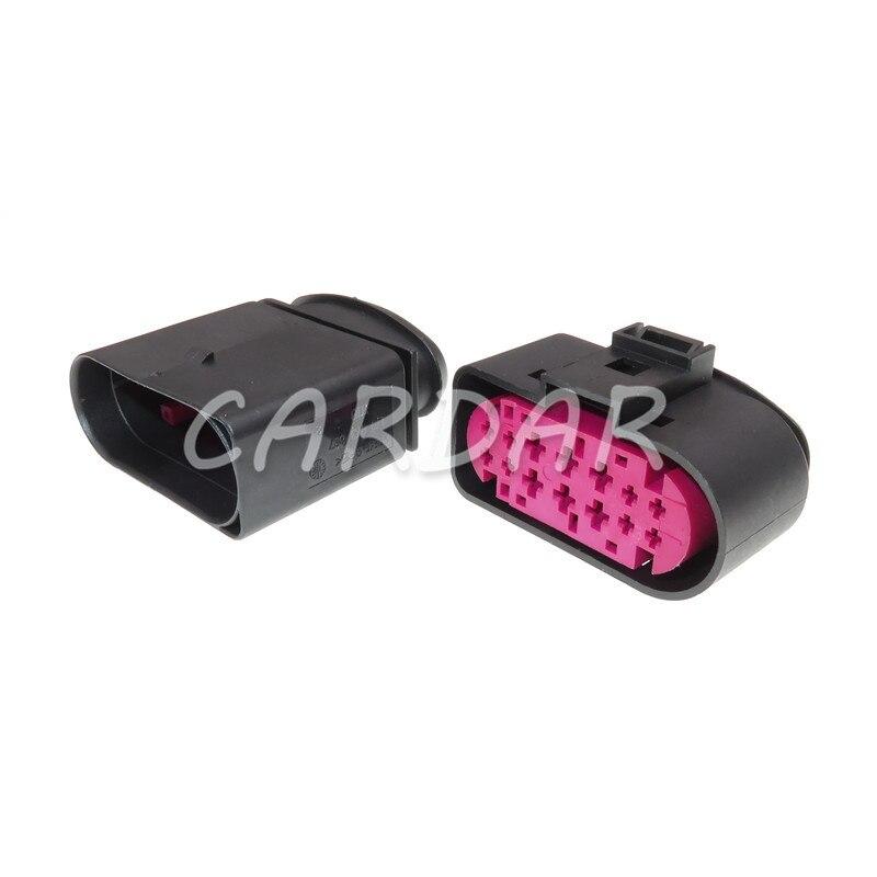 1 Набор 14 Pin 1J0973737 1J0973837 1,5 мм 3,5 мм водонепроницаемый автомобильный разъем светильник для Audi BMW VW
