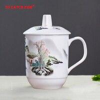 Chinesischen stil Keramik Tasse  Persönlichkeit Retro Milch Saft Zitrone Becher Kaffee Tee Tasse Hause Büro Drink Einzigartige Geschenk