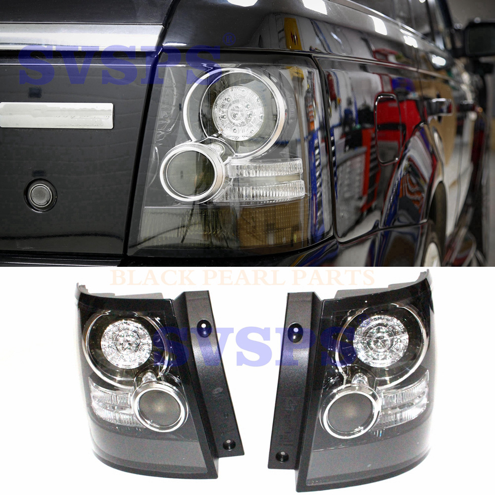 HIGH QUALITY TUNING PARTS SMOKED LOOK REAR TAIL LIGHTS LAMPS FOR LAND ROVER FOR RANGE ROVER SPORT VEHICLE L320 2005-2013 CAR