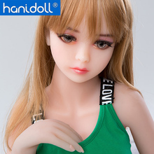 Hanidoll Silicone Sex Doll 100cm Mini Love TPE Metal Skeleton Full Sized Realistic Oral Anal Vagina Breast doll Japan