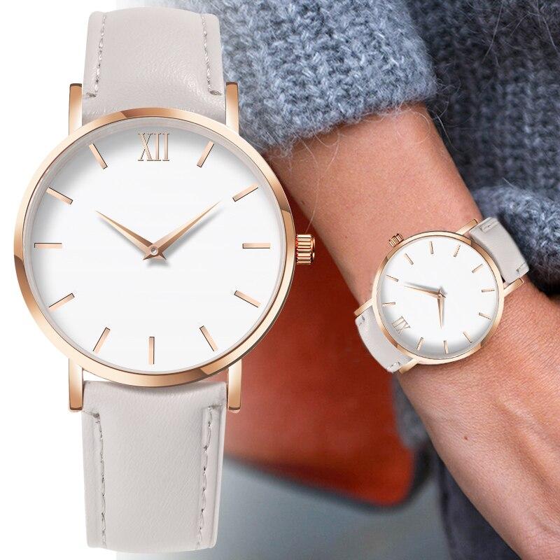 Female Clock Montre Quartz-Watch Feminino Femme Casual Fashion Woman Ladies Simple Relogio