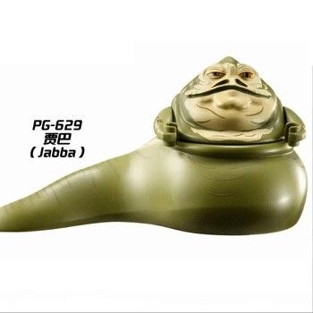 цена на Star Wars The Jabba With Chain Building Blocks Enlighten Figure Toys For Children
