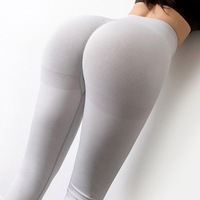 light gray-Seamless Yoga Leggings Women Sportwear